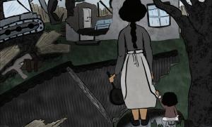 Acasa - banda desenata de Alina Serban, ilustratii de Vera Suratel